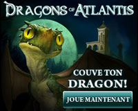 Le jeu Dragons Atlantis